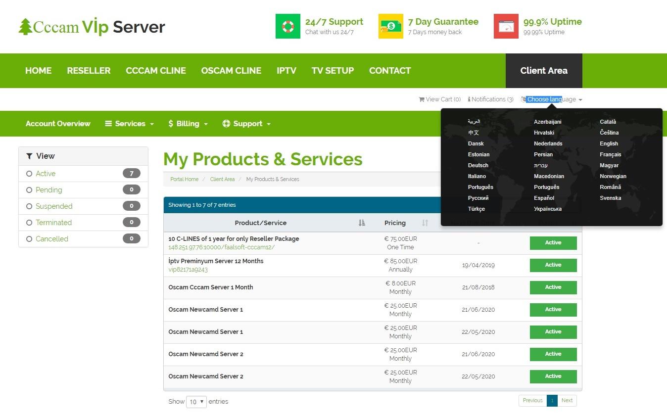 Cccam Premium Server - Best cccam | cccamvipserver com